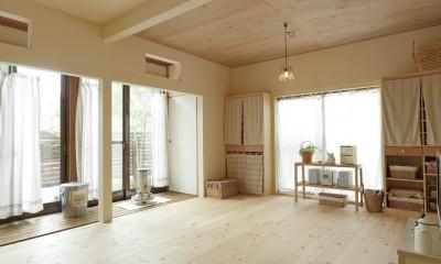 滋賀県Nさん邸:雑貨が似合う家に「わくわく」気分