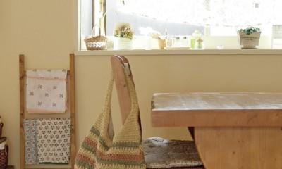 滋賀県Nさん邸:雑貨が似合う家に「わくわく」気分 (ナチュラルな空間)