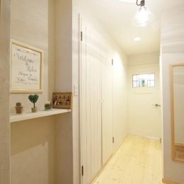 大阪府Kさん邸:カフェのようなおしゃれな、私テイストの部屋に (玄関)