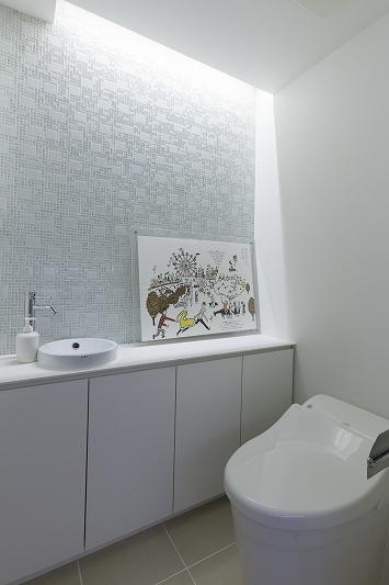 光と風のあふれる空間 (リノベーション)の部屋 トイレ