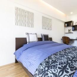 すっきりマンションリノベーション (寝室)