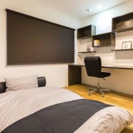 すっきりマンションリノベーション (寝室2)
