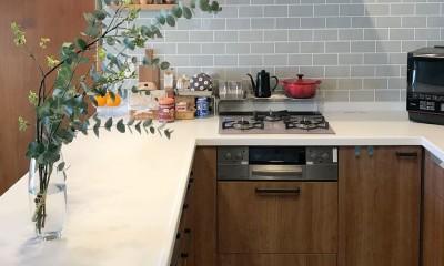 3世帯同居のための~北欧テイストのキッチン