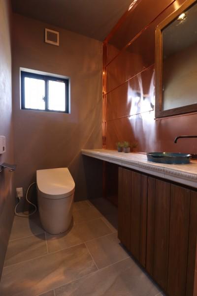 トイレ (O様邸~フルオーダー新築住宅~)