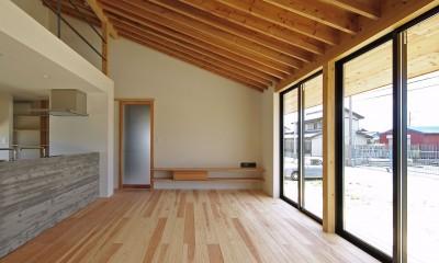 吉前の家-yoshizaki (リビング)