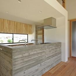 キッチン (吉前の家-yoshizaki)