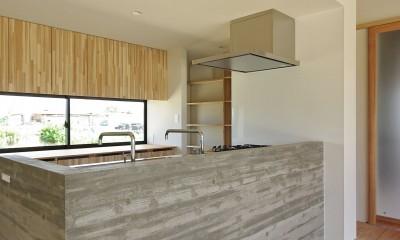 吉前の家-yoshizaki (キッチン)