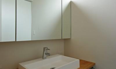 吉前の家-yoshizaki (洗面化粧台)