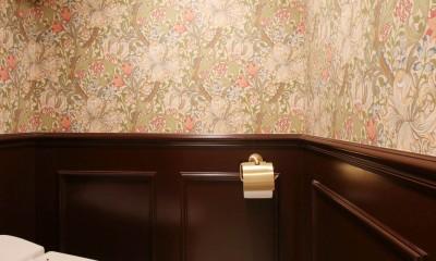 イギリスの邸宅に憧れて (トイレ)