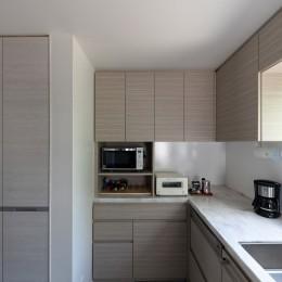 Casa Mi (キッチン 食洗器、収納側)