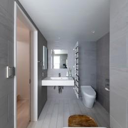 Casa Mi (サニタリー1 洗面台、トイレ)