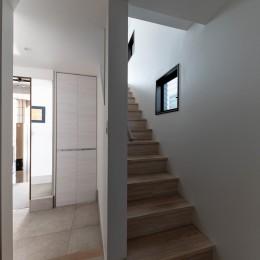Casa Mi (ホールから階段を見る)