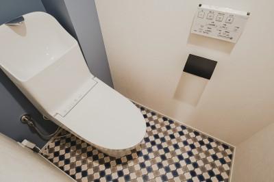 トイレ (ヴィンテージ × スタイリッシュ)