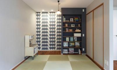 畳スペース|マンションリノベーション~お気に入りのクロスとDIY塗装