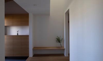 稲城の家 (玄関)