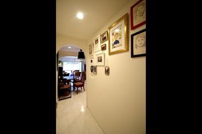 廊下 (北欧テイストのホワイトベースのナチュラル×シンプル)