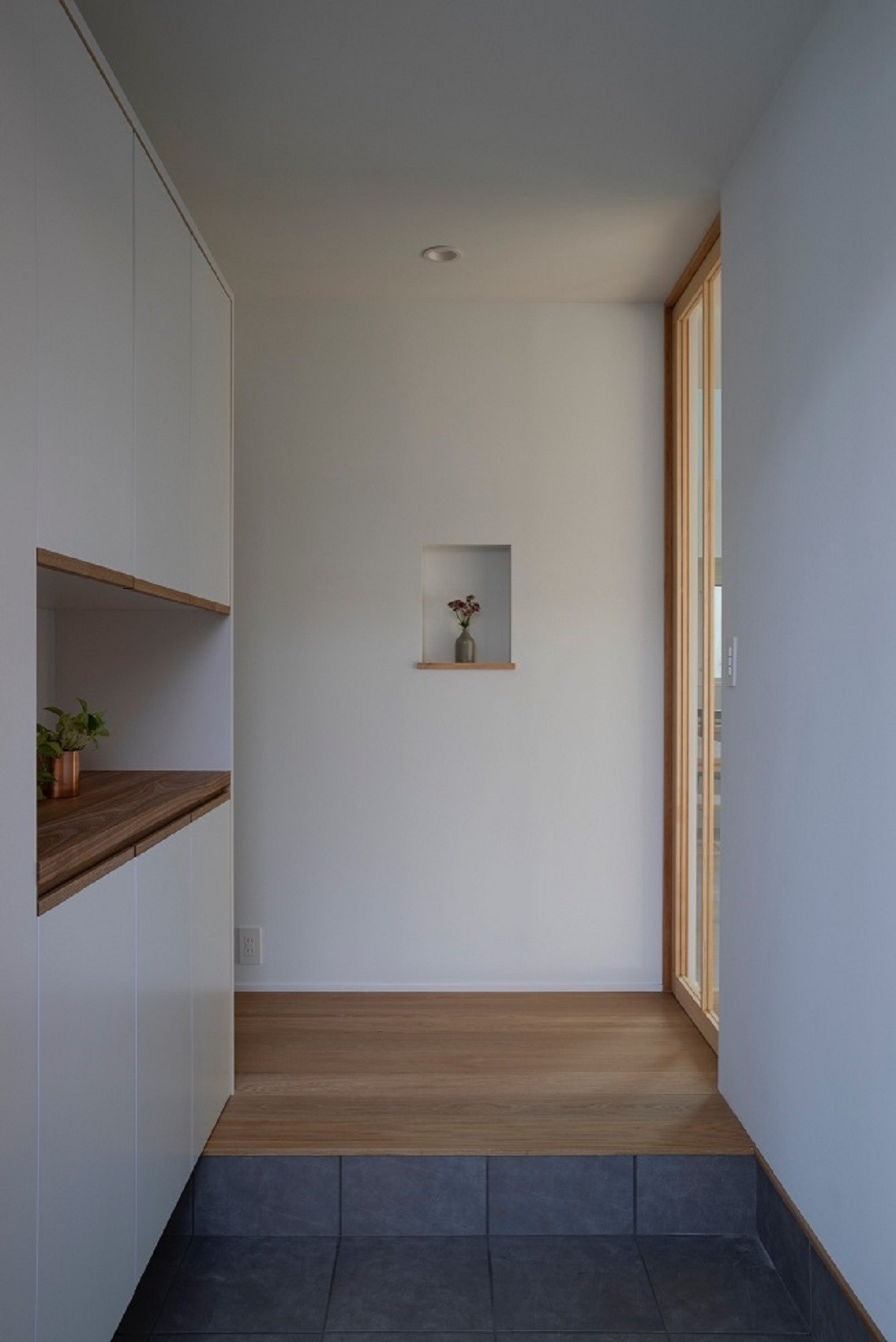 玄関事例:玄関(調布の家)