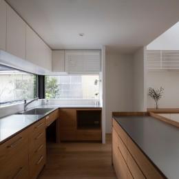 調布の家 (キッチン)