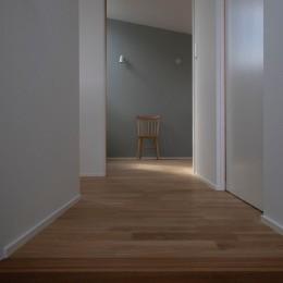 調布の家 (寝室)