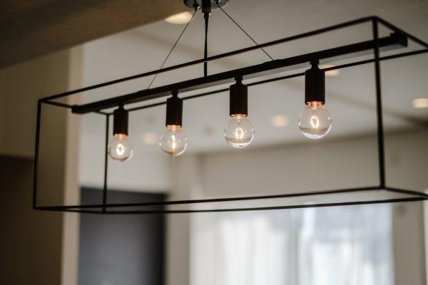 繋がりのある空間 (キッチン照明)