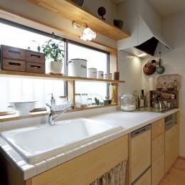 大阪府Iさん邸:実家の一部を増改築し、デザインにこだわった子世帯の住まいへ