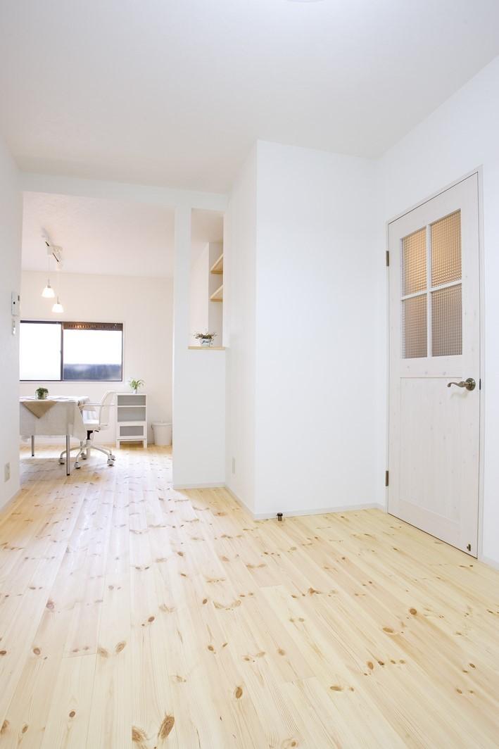 大阪府Mさん邸:「好きな雰囲気の家に住みたい」 (LDK)