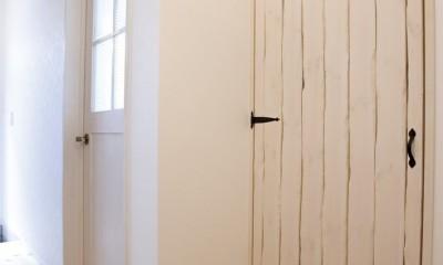 大阪府Mさん邸:「好きな雰囲気の家に住みたい」 (工夫いっぱいの造作建具)
