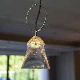 プレミアムマンションのリノベーション計画〜都会の森の家 (キッチン照明)