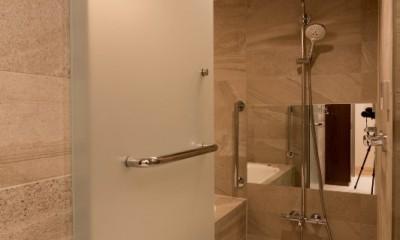 浴室|高級マンションのリノベーション〜高台のフレンチシックな家