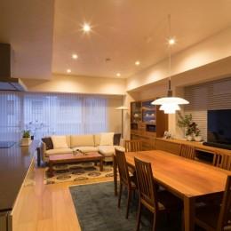 高級マンションのリノベーション〜高台のフレンチシックな家