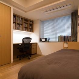 高級マンションのリノベーション〜高台のフレンチシックな家 (子供部屋)