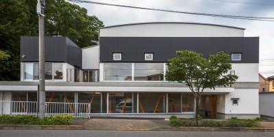 「立体庭」の住宅 (外観)