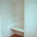小さな書斎スペース