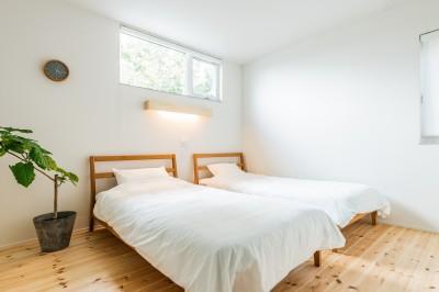 主寝室 (シンプルを追求した平屋)
