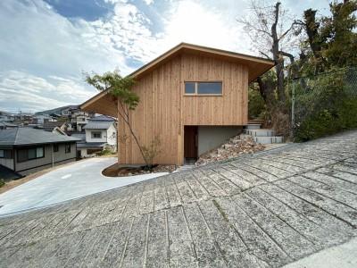 ファサード (東生駒の家)