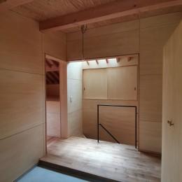 東生駒の家 (玄関)