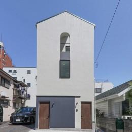 谷根千ペンシルハウス  東京の谷根千地区で完成した木造3階建ての住宅