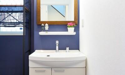洗面所|ウインダミアの家