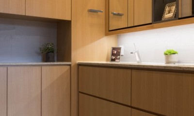 洗面|プレミアムヴィンテージマンションのリノベーション