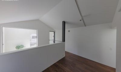 3階プライベート空間|谷根千ペンシルハウス  東京の谷根千地区で完成した木造3階建ての住宅