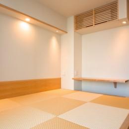 新築分譲マンションのインテリア:東京.晴海 01 (寝室)
