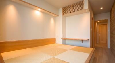寝室 (新築分譲マンションのインテリア:東京.晴海 01)