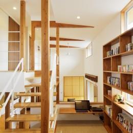 空気が澄む家 (書斎)