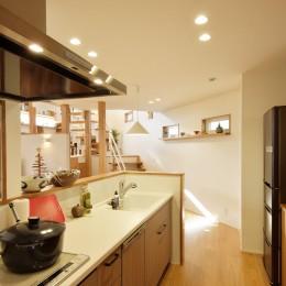 空気が澄む家 (キッチン)
