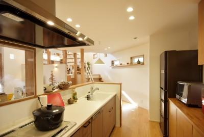 キッチン (空気が澄む家)