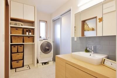 洗面所 (空気が澄む家)