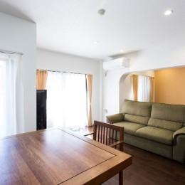 築21年のマンションを、暖かく手入れしやすい住まいへリノベーション