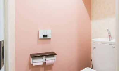 築21年のマンションを、暖かく手入れしやすい住まいへリノベーション (お手洗い)