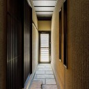 姫路・天満の家 主屋の写真 玄関 裏通路 通り土間