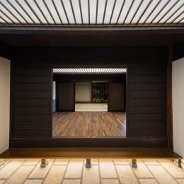 姫路・天満の家 主屋 (玄関土間)